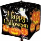 Pumpkin Halloween Cubez Balloon