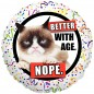 Grumpy Cat Better with Age Balloon