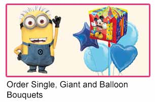 Single Balloons or Balloon Bouquets